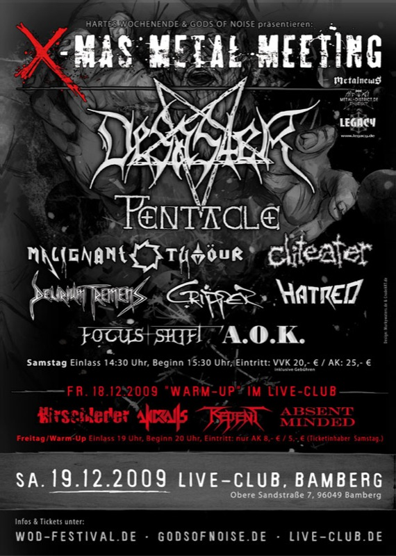 01 Absent Minded X Mas Metal Meeting